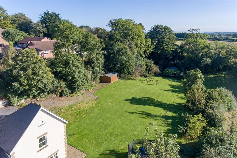 Garden Aerial Shot