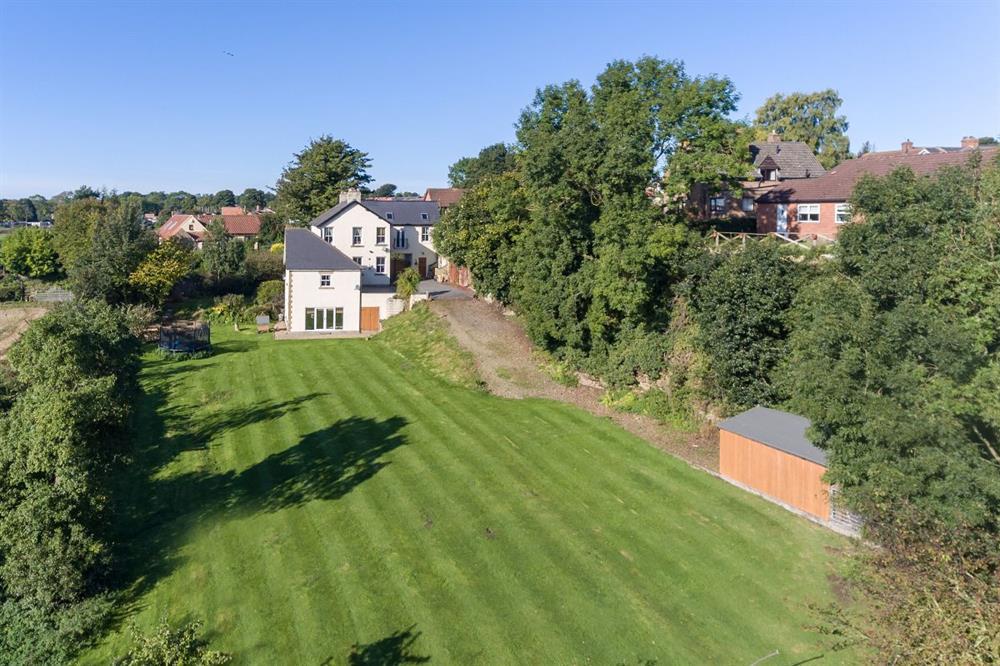 Side Elevation Aerial Shot
